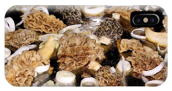 Season's First - Morel Mushrooms IPhone Case
