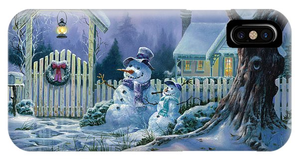 Season's Greeters IPhone Case