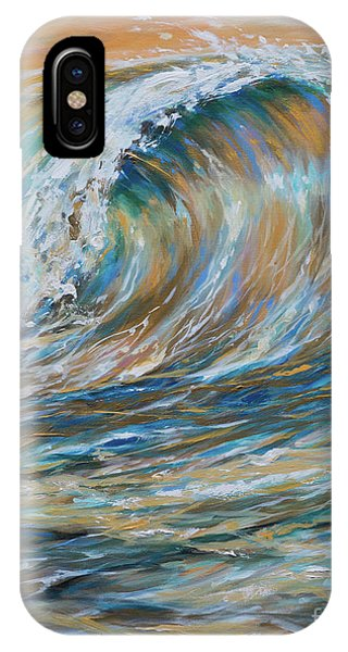 Seaspray Gold IPhone Case