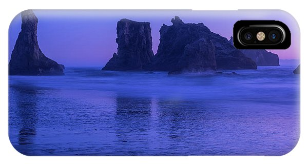 Seastack Sunset In Bandon IPhone Case