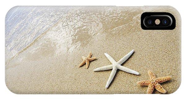 Seastars On Beach IPhone Case