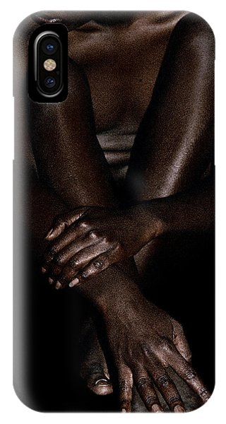 Seated Woman IPhone Case