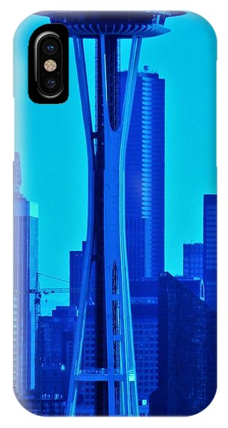 Seattle Blue IPhone Case