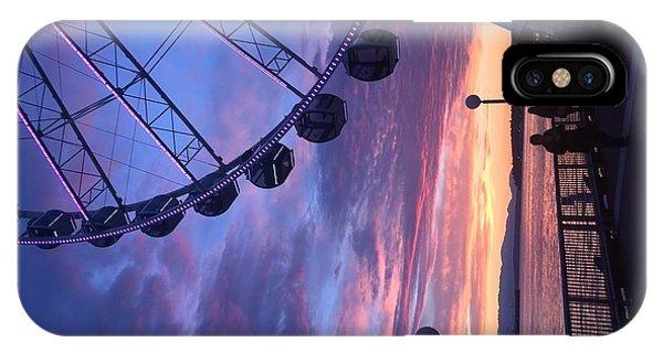 Seattle Ferris Wheel IPhone Case