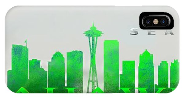 Seattle Greens IPhone Case