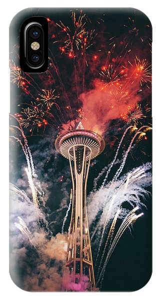 Needles iPhone Case - Seattle by Happy Home Artistry