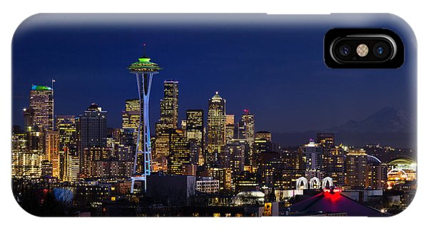 Seattle Seahawks Space Needle IPhone Case