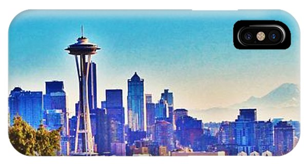 Seattle Sky IPhone Case