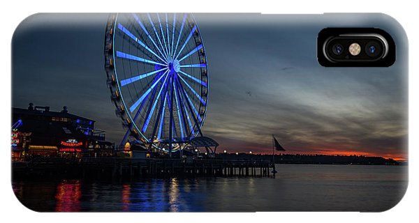 Seattle Sunset IPhone Case