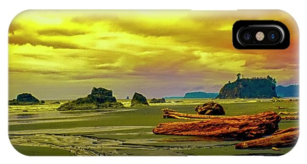 Seattle Wa. Ruby Beach IPhone Case