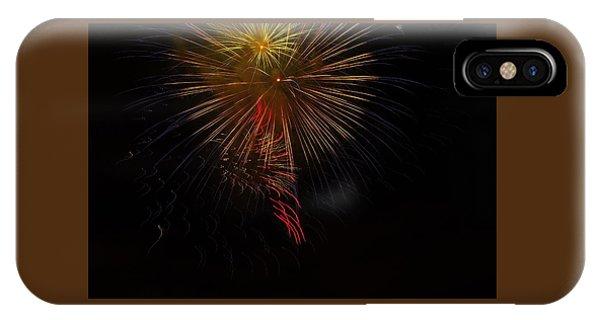Seaworld Fireworks 3 IPhone Case