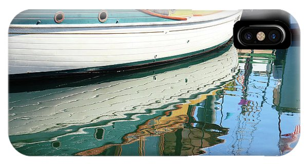Port Townsend iPhone Case - Teal Reflections by Cheryl Rose