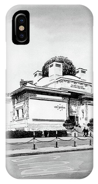 iPhone Case - Secession by Johannes Margreiter