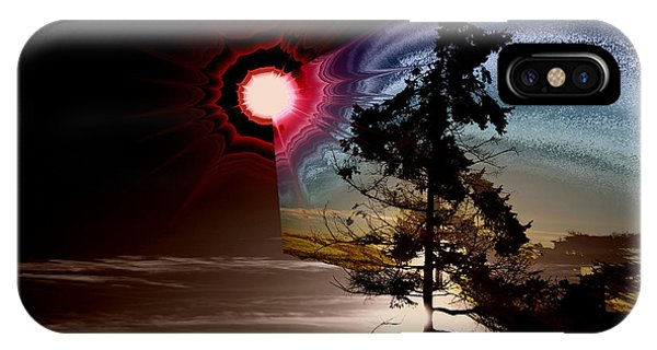 Sechelt Tree Stardust IPhone Case