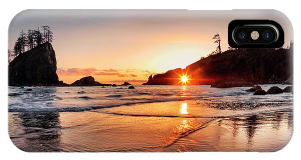 Olympic National Park iPhone Case - Second Beach 3 by Leland D Howard