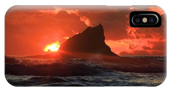 Second Beach Shark IPhone Case