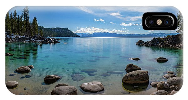 Secret Cove Aquas By Brad Scott IPhone Case