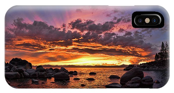 Secret Cove Sunset IPhone Case
