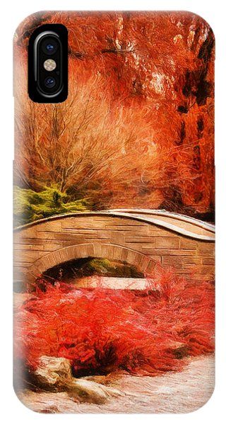 Secret Footbridge IPhone Case