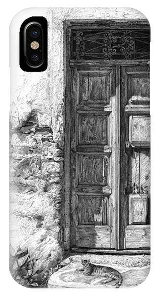Secret Of The Closed Doors IPhone Case