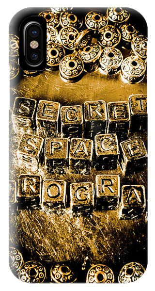 Saucer iPhone Case - Secret Space Program by Jorgo Photography - Wall Art Gallery