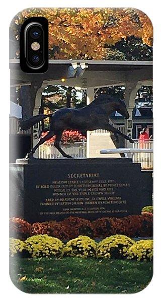 Secretariat 1 IPhone Case