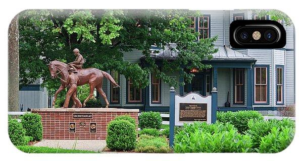 Secretariat Statue At The Kentucky Horse Park IPhone Case