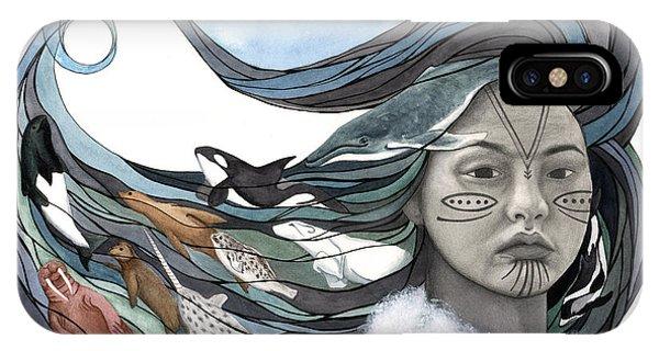 Sea Life iPhone Case - Sedna by Antony Galbraith