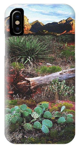 Sedona Mountain Sunrise IPhone Case