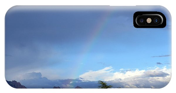 Sedona Rainbow Monsoon IPhone Case