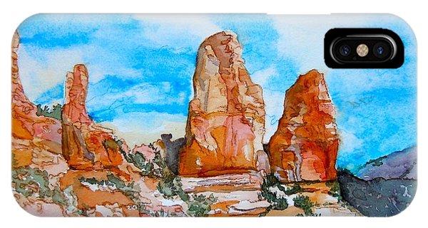 Sedona Red Rocks IPhone Case