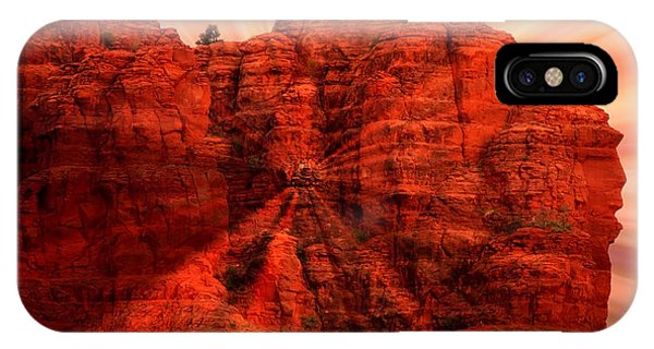 Sedona Sunset Energy - Abstract Art IPhone Case