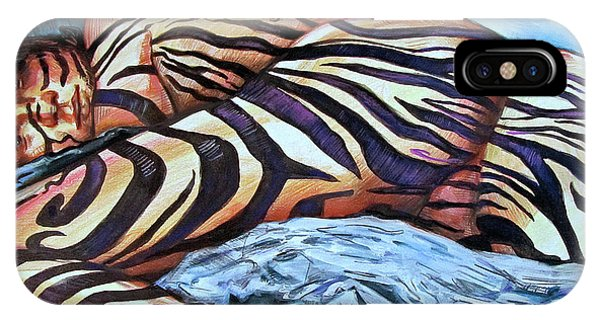 Seduction Of Stripes IPhone Case