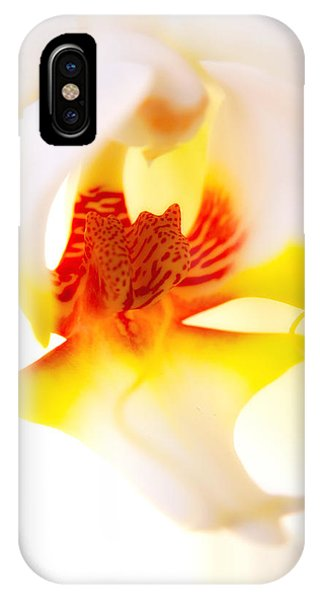 IPhone Case featuring the photograph Seductive Is The Orchid by Michael Hope