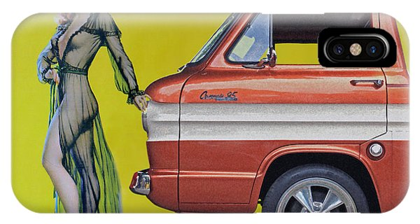 Corvair iPhone Case - Seductive Sales Pitch by Christopher McKenzie