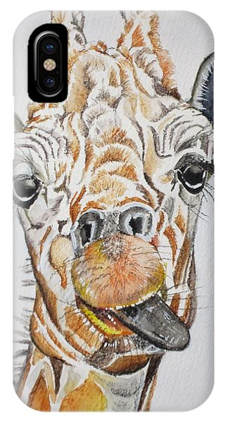 See My Tongue IPhone Case