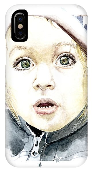 See The World Through My Eyes  IPhone Case