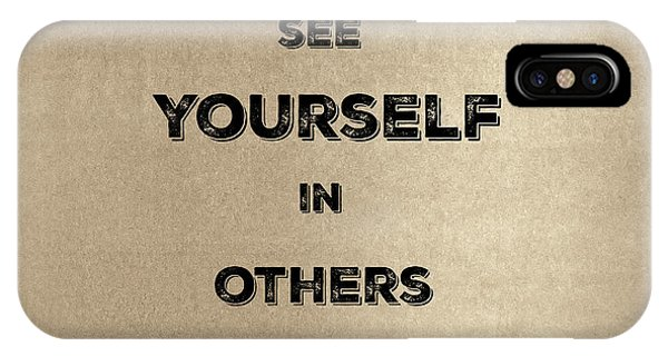 See Yourself #2 IPhone Case