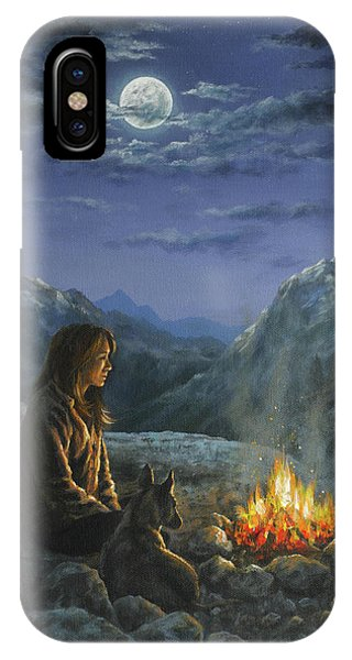 Seeking Solace IPhone Case
