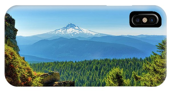 Mt Hood Seen From Beyond IPhone Case