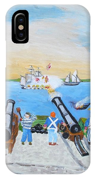 Seige Of Charleston, Sc IPhone Case