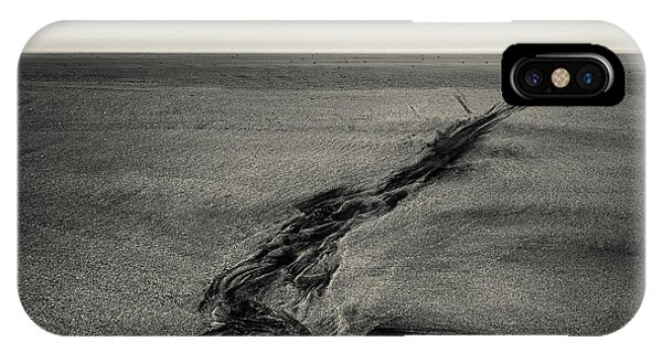 Seilebost Sand Tracks IPhone Case