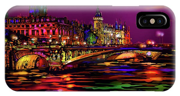 Seine, Paris IPhone Case