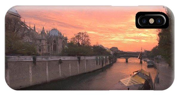 Seine River IPhone Case