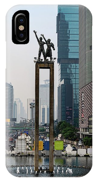 iPhone Case - Selamat Datang Monument by Steven Richman