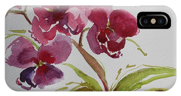 Selby Orchid II IPhone Case