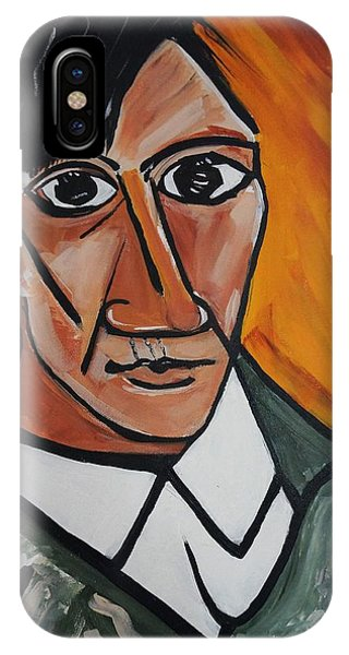 Self Portrait Of Picasso IPhone Case