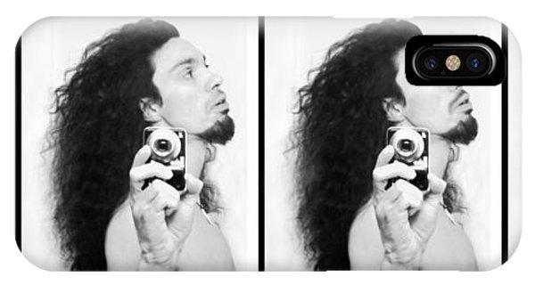 Self Portrait Progression Of Self Deception IPhone Case