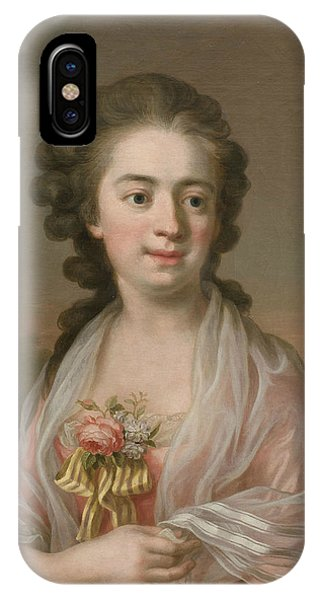 Swedish Painters iPhone Case - Self-portrait by Ulrika Pasch