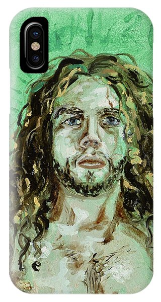 Self Portrait -with Emerald Green And Mummy Brown- IPhone Case